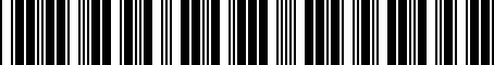 Barcode for PTR0230102