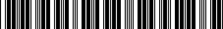 Barcode for PTR0930103